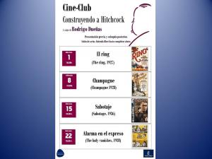 """Imagen de la actividad Cineclub: """"Construyendo a Hitchicok"""""""