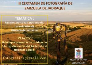 Imagen de la actividad III CERTAMEN DE FOTOGRAFÍA DE ZARZUELA DE JADRAQUE