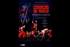 """Imagen de la actividad """"LEYENDAS COSACAS"""". Teatro Estatal """"Cosacos de Rusia"""""""