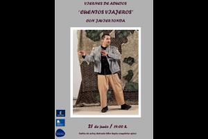 """Imagen de la actividad Viernes de adultos """"Cuentos viajeros"""" .Javier Tonda"""