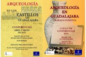 Imagen de la actividad Primer ciclo de conferencias: ARQUEOLOGÍA EN GUADALAJARA. TRABAJOS INÉDITOS Y ARQUEOLOGÍA EN LOS CASTILLOS DE GUADALAJARA