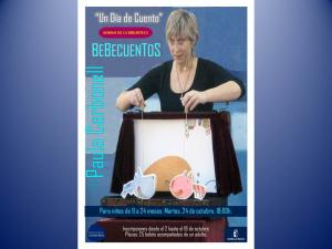 """Imagen de la actividad BebeCuentos: """"Un día de cuentos"""" con Paula Carbonell"""