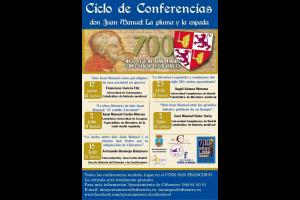 """Imagen de la actividad Ciclo de Conferencias """"DON JUAN MANUEL: LA PLUMA Y LA ESPADA"""""""