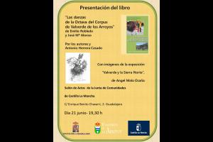 """Imagen de la actividad Presentación del Libro """"LAS DANZAS DE LA OCTAVA DEL CORPUS DE VALVERDE DE LOS ARROYOS"""""""