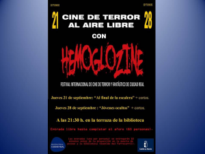 Imagen de la actividad Festival Internacional de Terror y Fantástico de Ciudad Real: HEMOGLOZINE 2017