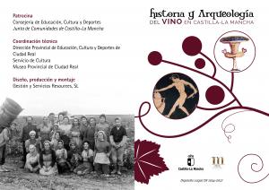 """Imagen de la actividad Exposición Temporal:"""" Historia y Arqueología del vino en Castilla –La Mancha."""""""