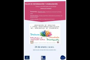 """Imagen de la actividad Conferencia : Taller de información y visibilización """" Dislexia y otras Dificultades de Aprendizaje"""" ¡¡Unidos por la dislexia!!"""