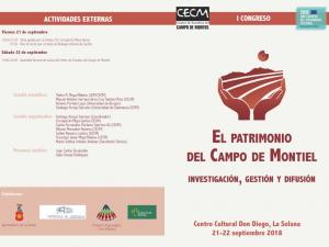 """Imagen de la actividad  I Congreso: """"El Patrimonio en el Campo de Montiel. Investigación, gestión y difusión"""""""