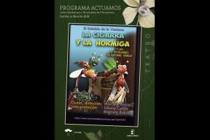 Imagen de la actividad LA CIGARRA Y LA HORMIGA Y LAS 4 ESTACIONES DE ANTONIO VIVALDI (El Retablo de la Ventana)