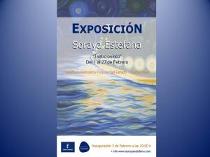 """Imagen de la actividad Exposición de Pintura """"Teatro Onírico"""" de Soraya Estefana"""
