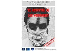 """Imagen de la actividad SEMANA DE LA BIBLIOTECA. Viernes de Adultos """"El hospital de los horrores: un pasaje del terror"""" . Los Bichos de Luz"""