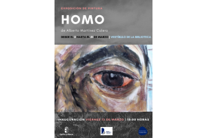 """Imagen de la actividad Exposición de pintura """"Homo"""" de Alberto Martínez Calero"""