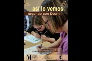 Imagen de la actividad Exposición ASI LO VEMOS. CREANDO CON DOWN