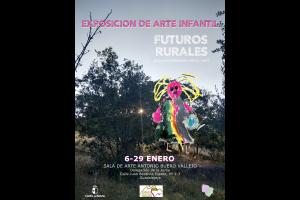 """Imagen de la actividad Exposición Temporal de Arte Infantil """"FUTUROS RURALES"""""""