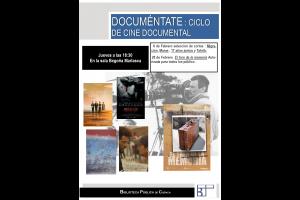 Imagen de la actividad DOCUMÉNTATE. Ciclo de cine documental en la BPE Cuenca