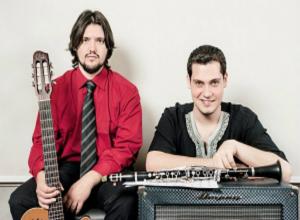 Imagen de la actividad Guitarinet Jazz duo : concierto pedagógico