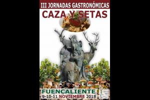 Imagen de la actividad III JORNADAS GASTRONOMICAS DE CAZA Y SETAS