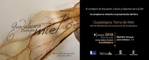 Imagen de la actividad Presentación del libro: Guadalajara Tierra de Miel