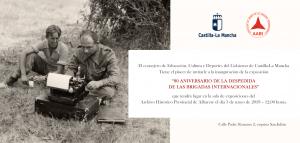 Imagen de la actividad Exposición fotográfica: 80 aniversario de la despedida de las Brigadas Internacionales
