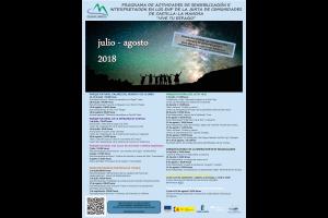 Imagen de la actividad Actividades organizadas en Espacios Naturales Protegidos.JULIO-AGOSTO  2018. Apúntate y ¡Vive tu Espacio!