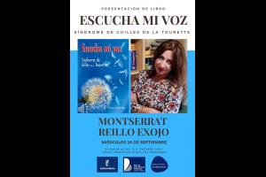 """Imagen de la actividad Presentación del libro """"Escucha mi voz: Síndrome Guilles de la Tourette"""" de Monserrat Reillo"""