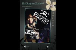 Imagen de la actividad LOS ÚLTIMOS PIRATAS (Títeres Cacaramusa Teatro)