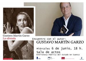 Imagen de la actividad Encuentro con Gustavo Martín Garzo