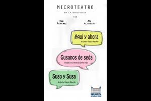 Imagen de la actividad Microteatro con Eduardo Álvarez y Ale Acevedo