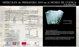 Imagen de la actividad MIÉRCOLES DE PRIMAVERA EN EL MUSEO DE CUENCA. 12 de junio de 2019