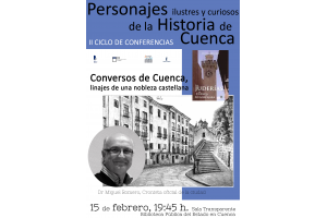 Imagen de la actividad Conversos de Cuenca, linajes de una nobleza castellana