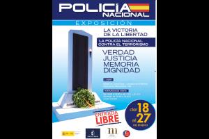 Imagen de la actividad Exposición: La victoria de la libertad. La Policía Nacional contra el terrorismo.
