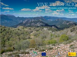 Imagen de la actividad Actividades organizadas en Espacios Naturales Protegidos.MAYO Y JUNIO 2021. Apúntate y ¡Vive tu Espacio!