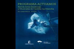 """Imagen de la actividad Campaña de Primavera de 2020, de la Red de Artes Escénicas y Musicales de Castilla-La Mancha. """"PERFECTOS DESCONOCIDOS"""". Compañía PENTACIÓN, S.A."""