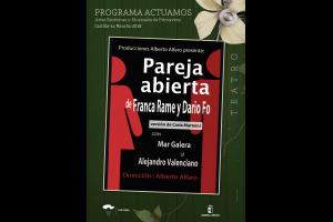Imagen de la actividad PAREJA ABIERTA (Producciones Alberto Alfaro)