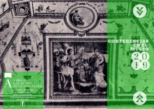 """Imagen de la actividad CICLO DE CONFERENCIAS """"CONFERENCIAS EN EL MUSEO 2019"""""""