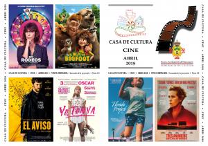 Imagen de la actividad  Programación Cine Abril 2018