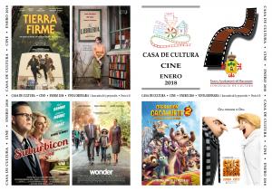 Imagen de la actividad Programación Cine Enero 2018