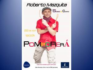 """Imagen de la actividad Sábado de Cuento con Roberto Mezquita: """"Pomporerá"""""""