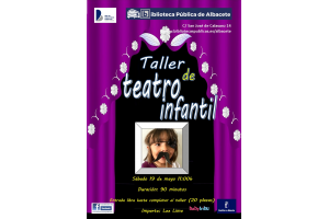 Imagen de la actividad Taller de teatro infantil.