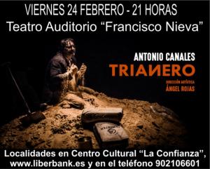 """Imagen de la actividad """"TRIANERO"""" CON ANTONIO CANALES"""