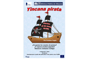 Imagen de la actividad Yincana pirata. Cuentos y juegos con Cristina Yagüe.